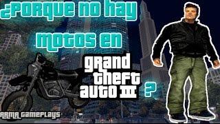 ¿PORQUE NO HAY MOTOS EN GTA 3?  CURIOSIDADES GTA  [ARMA Gameplays y Más]