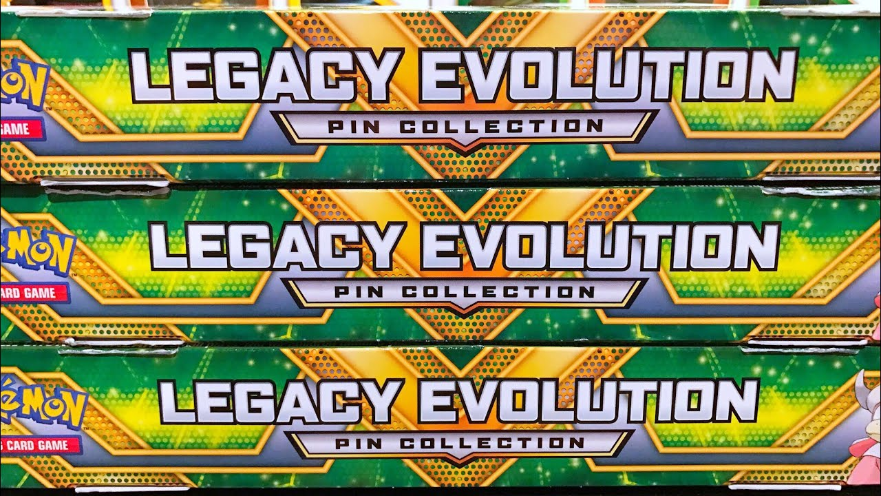 Christmas Opening! 3 Legacy Evolution Pin Collection Boxes ...