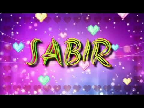 Sabir _ Name Status _ No copyright song _ WhatsApp Name Status ❤️