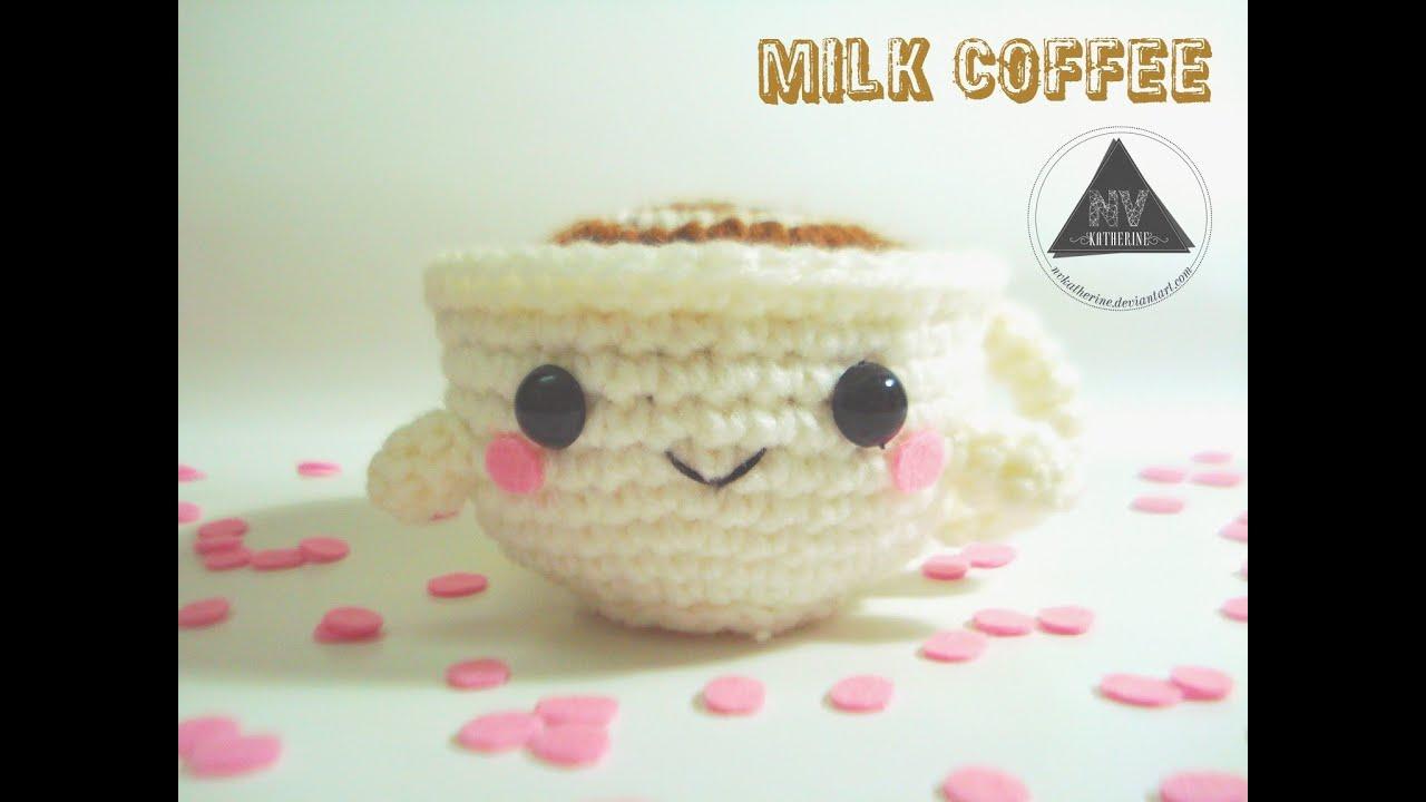 Crochet Milk Coffee Cup Amigurumi FREE PATTERN - YouTube