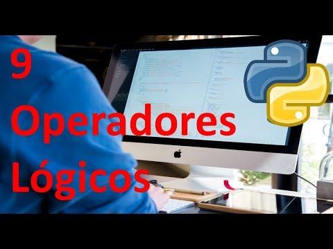 Operadores lógicos - 9 - Python tutorial en español thumbnail