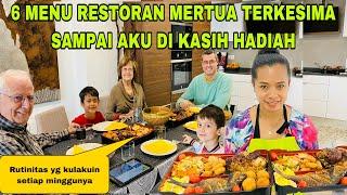 Download MASAK 6 MENU ALA RESTORAN ,MERTUA TERKESIMA SAMPAI DI KASIH HADIAH DAN DUIT