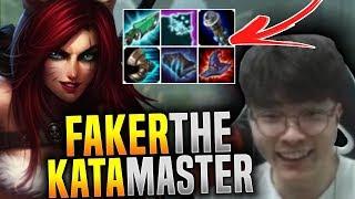 Faker Katarina is so Strong! - SKT T1 Faker Plays Katarina Mid vs Kassadin! | SKT T1 Replays