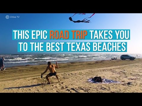 The Ultimate Texas Beach Road Trip