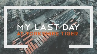 My last day at Yorkshire Tiger 🐅 🚌