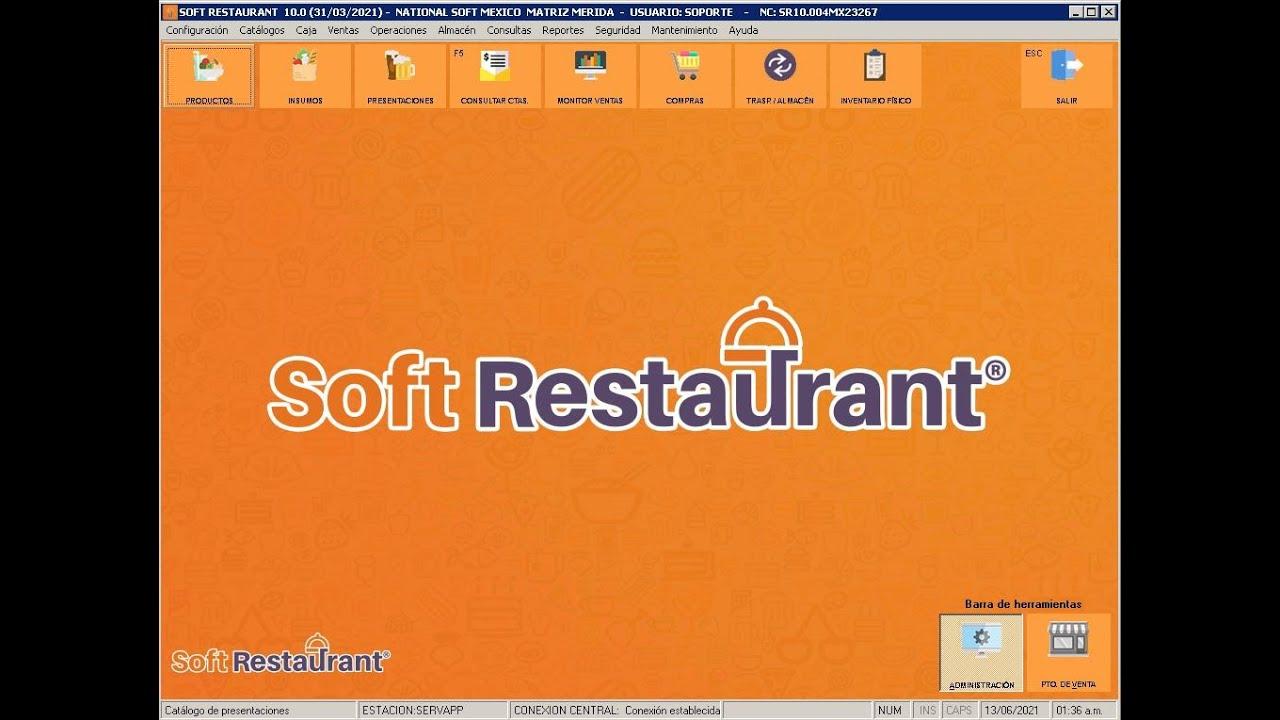 SoftRestaurant - Configurar Area de Impresion