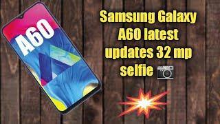 Samsung Galaxy A60 first look