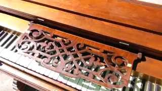 Antique Pump Organ Converted To Electric