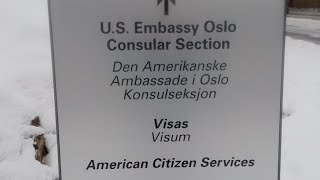 Auditing The American Embassy In Norway