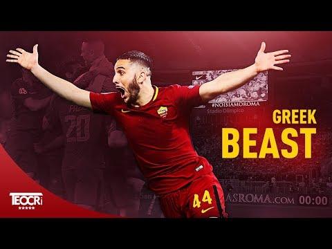 Kostas Manolas - The Greek Beast ● Crazy Defensive Skills 2018 HD|