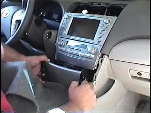 How To Remove Radio / Navigation From 2007 Toyota Camry  For Repair