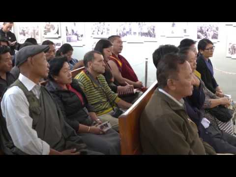 Kalon Karma Gelek Yuthok Inaugurates Photo-framed Exhibition  on Cultural Revolution in Tibet