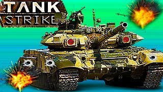 TANK STRIKE#17 Новый онлайн мультик Война танков много оружия новых танков Видео для детей.