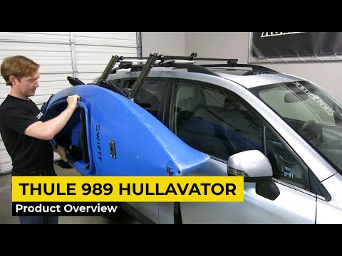 Thule Hullavator Pro 989 Lift-Assist Kayak Carrier Overview