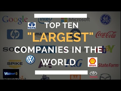 Top 10 Biggest Companies in the world