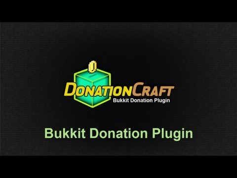 Bukkit Donation Plugin - DonationCraft