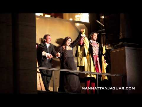 Manhattan Jaguar drives the Metropolitan Opera Opening Night & Gala