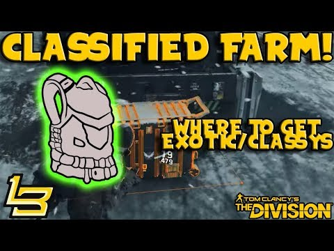 Exotic & Classified Farm! (The Division)