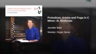 Preludium, Arietta and Fuga in C Minor: III. Moderato