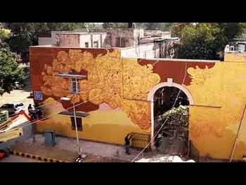 A look at the art work of an Indian and Spanish artist