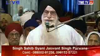 Daily Katha from Sri Bangla Sahib Delhi - Jaswant Singh Parwana - 15 May 2015 Pt 2