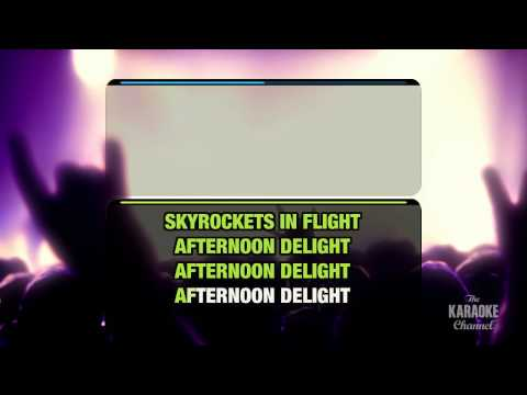 Afternoon Delight in the style of Starland Vocal Band | Karaoke with Lyrics