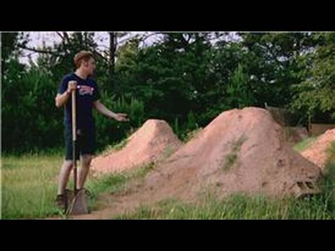 Bmx Biking How To Build Bmx Dirt Jumps Youtube
