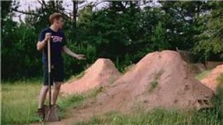Bmx Biking : How To Build Bmx Dirt Jumps