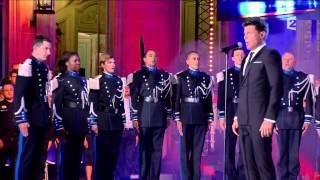 """Vincent Niclo: """" La Marseillaise """" émission Une nuit avec la Police et la Gendarmerie"""