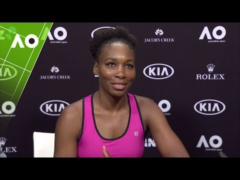 Venus Williams press conference (3R) | Australian Open 2017