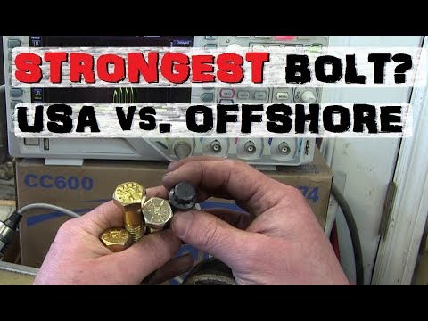 Home Depot Bolt vs. USA Made | Offshore Suprise!