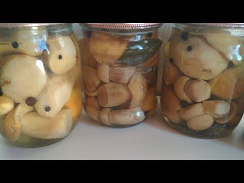 Маринованные Грибы Самый Вкусный Маринад. Белые Грибы на Зиму. Рецепт проверенный годами