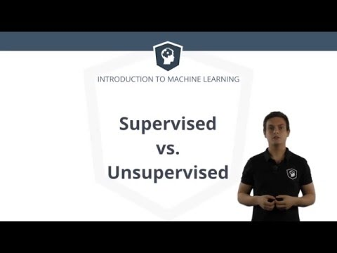 Machine Learning in R - Supervised vs. Unsupervised