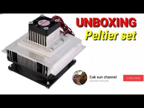 UNBOXING. (Peltier set)
