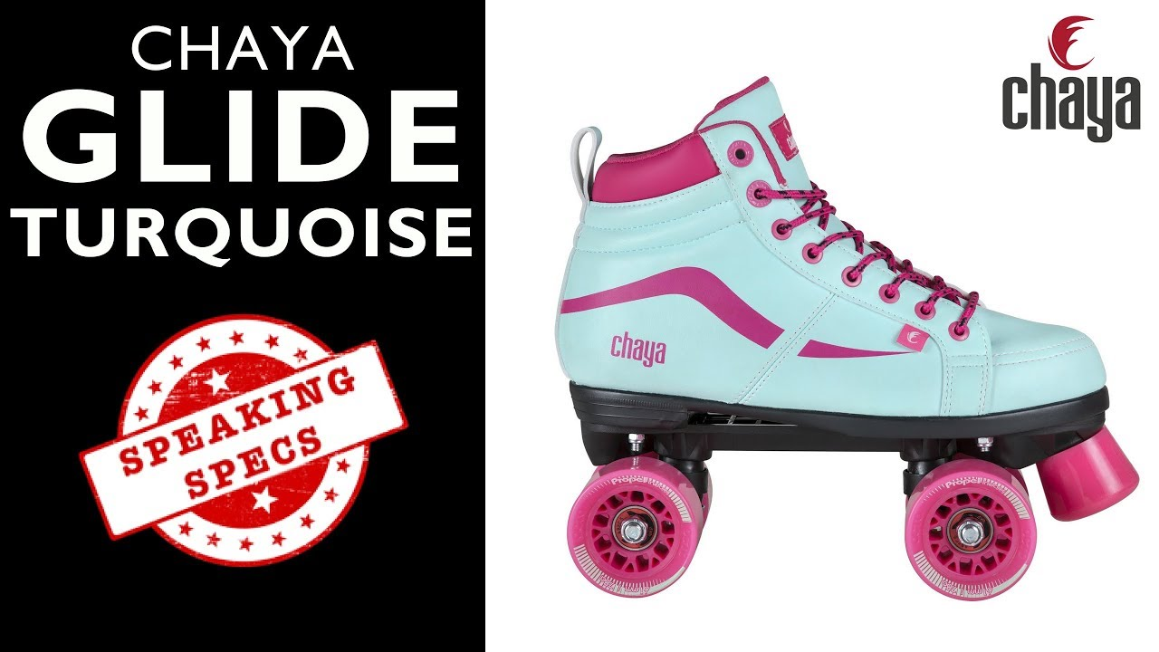 f1b02f1a26a Chaya Glide Turquoise Vintage Roller Skate - CHAYA SPEAKING SPECS ...