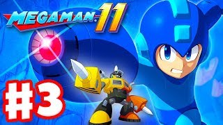 Mega Man 11 - Gameplay Walkthrough Part 3 - Impact Man Stage! (PC)