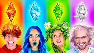Four Elements Magic PRANKS in College | Fire, Water, Earth and Air  - by La La Life Games