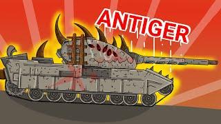 Antiger - Мультфильм про танки