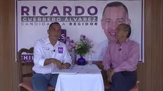Ya demostré con hechos que apoyo a los que más lo necesitan, asegura Ricardo Guerrero Álvarez.