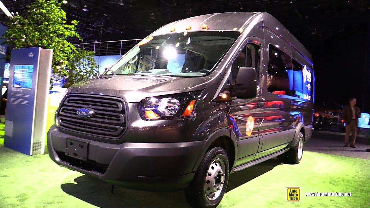 2019 Ford Transit Connect GoRide Shuttle Van Walkaround Tour