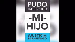 Renato es el hijo de todos. Te podía haber pasado a vos. #JusticiaparaRenato