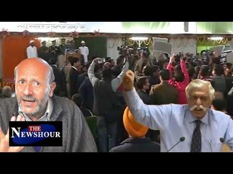 Jammu-Kashmir Netas INSULT National Anthem: The Newshour Debate (2nd Jan)