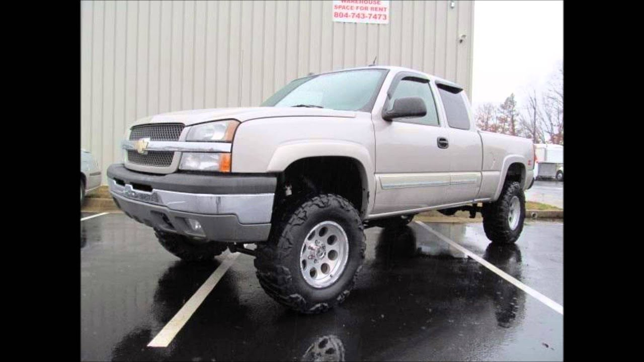 Z71 Chevy Truck 2005 Chevrolet Silverado 1500 LS Lifted Truck For Sale ...