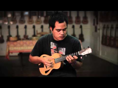 Corey Fujimoto- Spirited Away Reprise on Koolau Archtop Tenor Ukulele