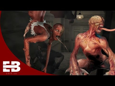 Lickers evolution in Resident Evil series |