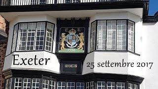 Exeter e il cottage in Cornovaglia