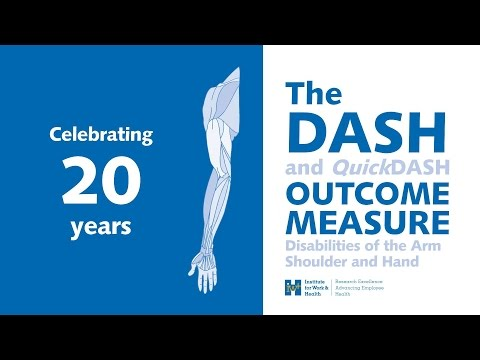 Celebrating 20 Years Of The DASH Outcome Measure