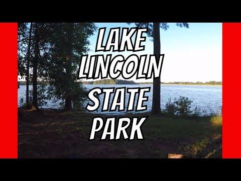 Lake Lincoln State Park Camping   Sept 2017   AldermanFarms
