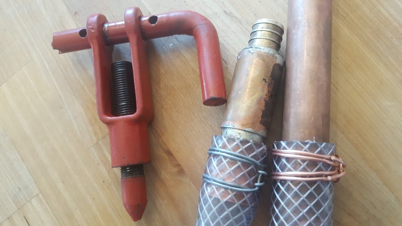 Home Made Wire Hose Clamp Binder Tool =$$No More hose clamps$$ - YouTube