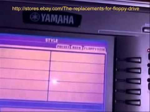 floppy emulator yamaha psr 2100